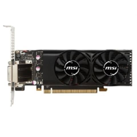 MSI Video Card GTX 1050 TI 4GT LP G1050T4TP GeForce GTX 1050 TI 4GB GDDR5 DisplayPort/HDMI/DL-DVI-D Retail
