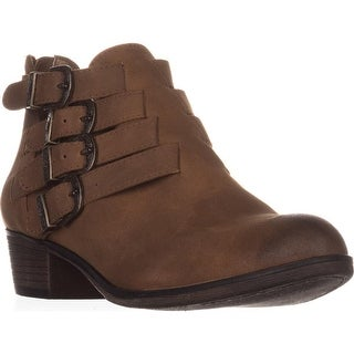 AR35 Darie Strappy Ankle Boots, Tan