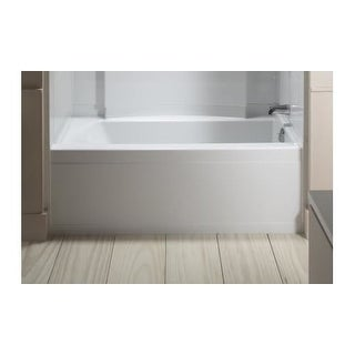 "Sterling 71151120 Accord Series 7115, 60"" x 32"" Bath-Right-hand Drain"