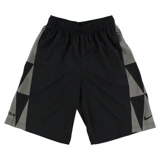 Nike Boys LeBron James Essential Basketball Shorts Black - Black/Grey