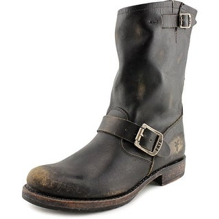 Frye Veronica Short Round Toe Leather Boot