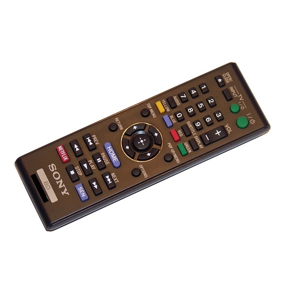 OEM Sony Remote Control Originally Supplied With: BDPBX510, BDP-BX510, BDPBX59, BDP-BX59, BDPS1100, BDP-S1100