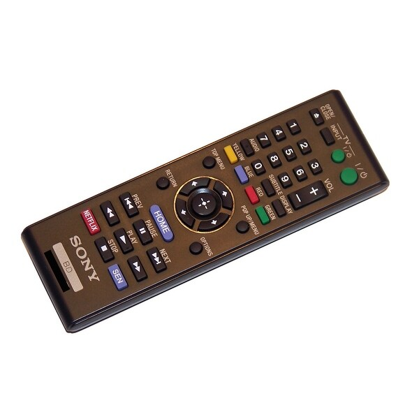 OEM Sony Remote Control Originally Supplied With: BDPS3100, BDP-S3100, BDPS390, BDP-S390, BDPS5100, BDP-S5100