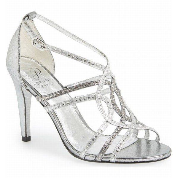 Adrianna Papell NEW Silver Women's Shoes Size 10M Elixir Sandal