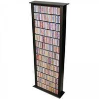 Venture Horizon 2411-21BL Media Storage Tower-Tall Single black