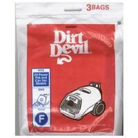 Dirt Devil 3-200147 3 Pack Dirt Devil F Vacuum Bag