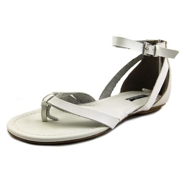 Michael Antonio Daft Open Toe Synthetic Thong Sandal