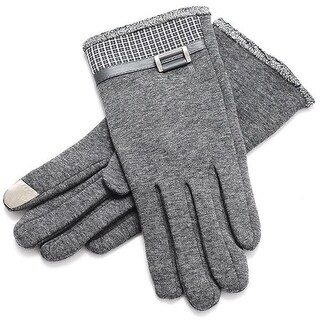 Mad Style Hamptons Texting Gloves - Grey