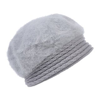 Mad Style Grey Furberry Beret