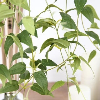 """G Home Collection Artificial Green Ivy Leaf Vines 33"""" Long"""