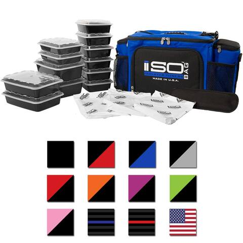 Isolator Fitness 6 Meal ISOBAG Meal Prep Management Bag - One Size