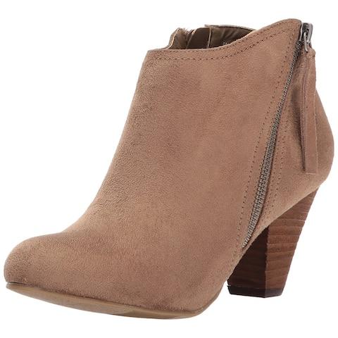 Xoxo Womens Amberly Almond Toe Ankle Fashion Boots