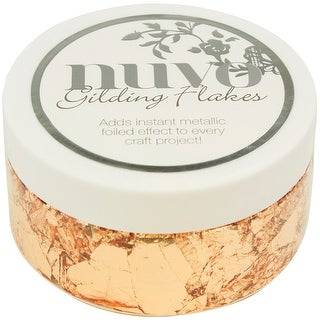 Nuvo Gilding Flakes 6.8oz-Sunkissed Copper