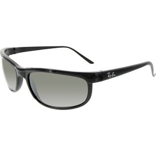 Ray-Ban Men's Polarized Predator RB2027-601/W1-62 Black Rectangle Sunglasses
