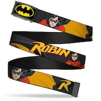 Batman Fcg Black Yellow Chrome Robin Red Black Poses Gray Webbing Web Web Belt