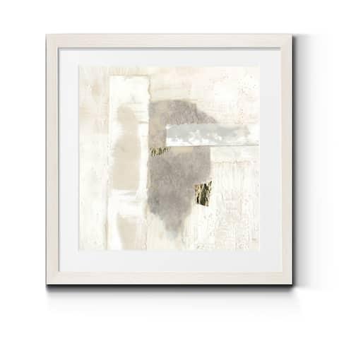 Neutral Gold I -Premium Framed Print - Ready to Hang