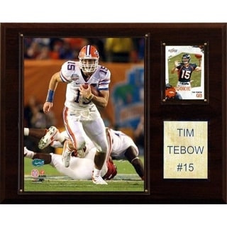 C I Collectables 1215TEBOWC NCAA Football Tim Tebow Florida Gators Player Plaque