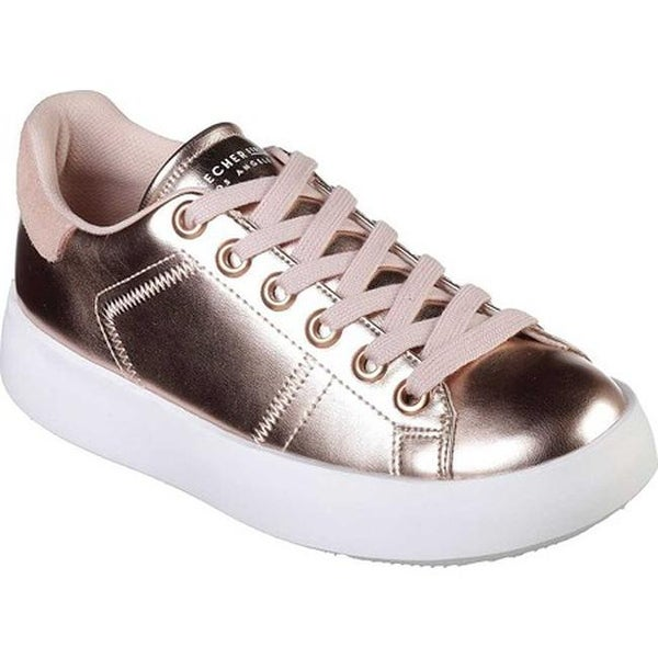 76f988d2efad Shop Skechers Women s Traffic Shoetopia Sneaker Rose Gold - Free ...
