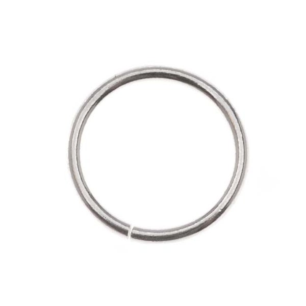 Sterling Silver Open Jump Rings 10mm 19 Gauge (4)
