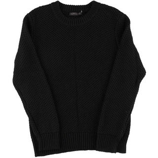 Ralph Lauren Black Label Mens Linen Textured Crewneck Sweater - M