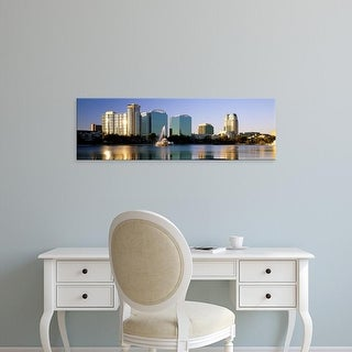 Easy Art Prints Panoramic Images's 'Orlando, Florida, USA' Premium Canvas Art