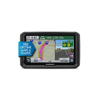 "Refurbished Garmin dezl 570LMT 5"" GPS W / FREE Lifetime Maps & Traffic Updates Specialized Truck Restrictions"