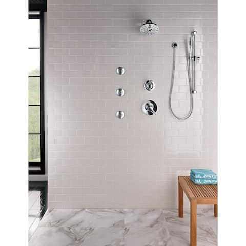 Delta Grail Premium Single-Setting Slide Bar Hand Shower (57085-RB)