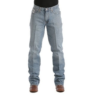 Cinch Western Denim Jeans Mens White Label Relaxed