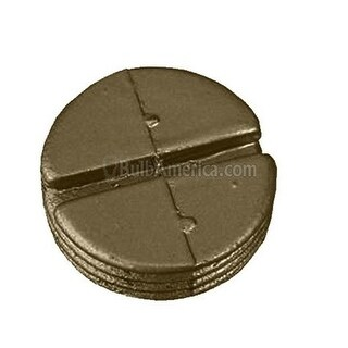 Morris Products 37524 Hole Plugs 0.7 5 In. Bronze, Pack Of 10