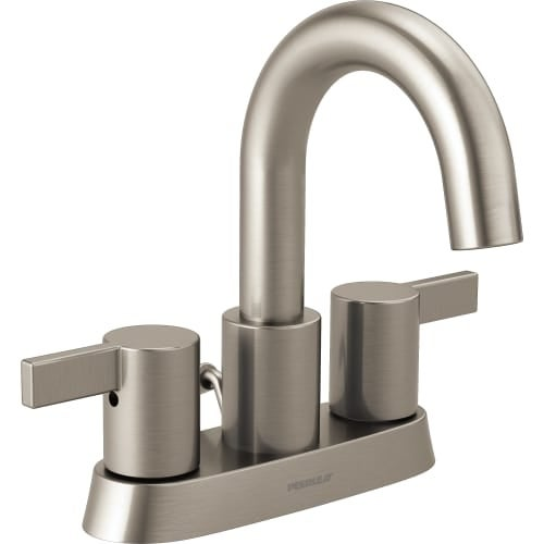 Peerless P299102LF Centerset 1.2 GPM Bathroom Faucet with Pop-Up ...