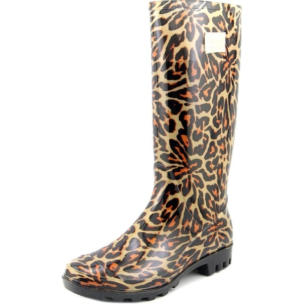 Nicole Miller New York Rena Women  Round Toe Synthetic  Rain Boot