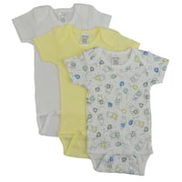 Bambini Girls' Printed Short Sleeve Variety Pack - Size - Small - Girl