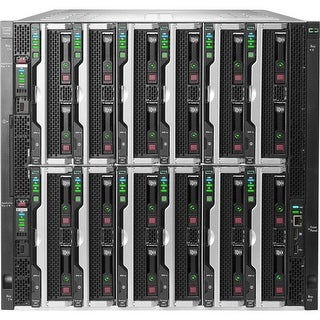 Hpe Synergy 12000 Frame With 2X Frame Link Modules 6X Power Supplies 10X Fans