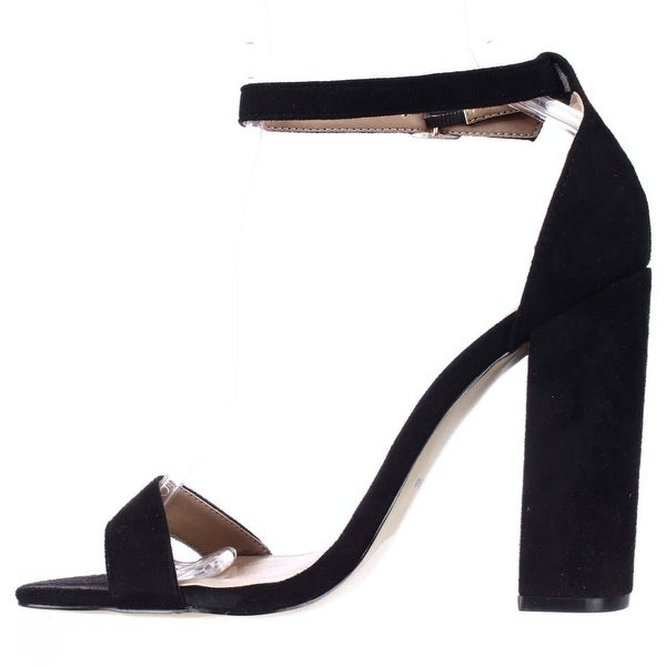 ZIGI SOHO Womens Loise Open Toe Ankle Strap D-orsay Pumps