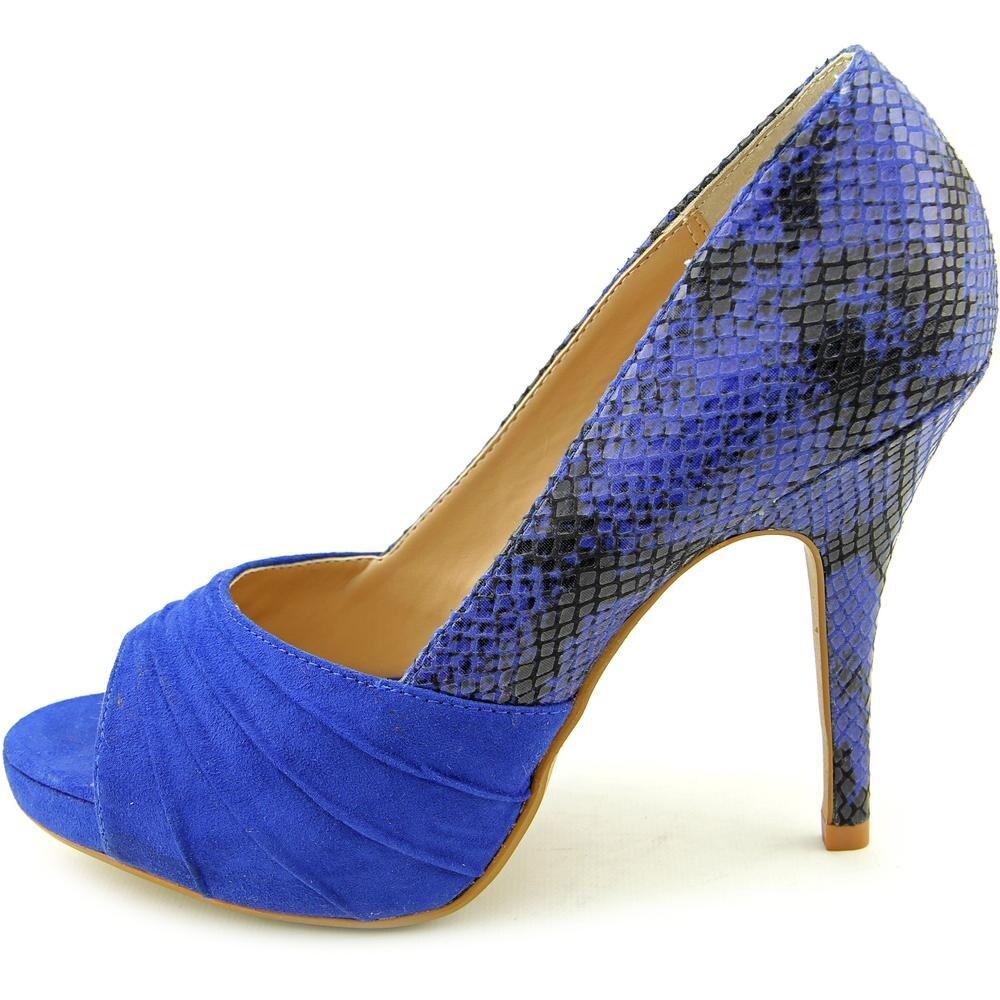 9b2c406f2ade2 Thalia Sodi Marissa Open-Toe Canvas Heels