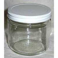 Clear Glass Jar 16 oz