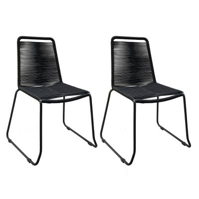 DreamPatio Lux Rope Chair - Set of 2