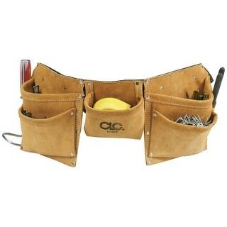 CLC I370X3 Heavy Duty Work Apron, 8 Pockets