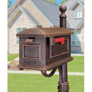 Special Lite Products Traditional Curbside Mailbox - Copper