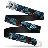 Jack Expression6 Full Color Nightmare Before Christmas Jack, Oogie Boogie, Seatbelt Belt