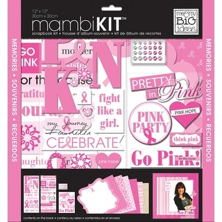 "Me & My Big Ideas Page Kit 12""X12""-Pretty In Pink"