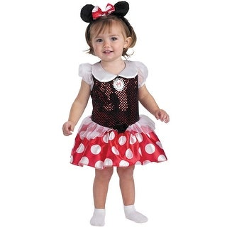 Disguise Mickey Mouse Clubhouse Minnie Mouse Toddler Costume - Black/Red - 12-18