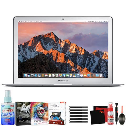"Apple 13.3"" MacBook Air (Mid 2017, Silver) - Bundle"