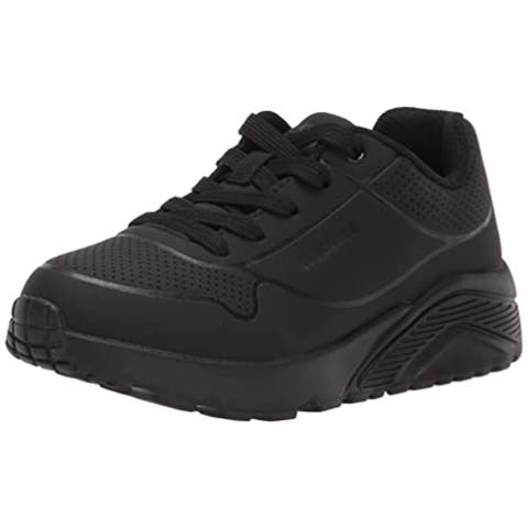 Skechers Kids Boy's UNO LITE-DELODOX Sneaker, Black/Black