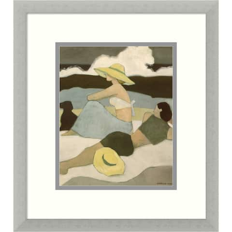 Framed Art Print 'A Summer's Rest' by George Xiong - 16x18-inch