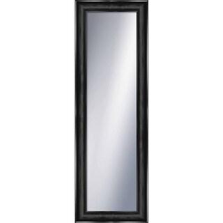"""PTM Images 5-1299 54-3/4"""" x 18-3/4"""" Rectangular Framed Mirror - Black"""