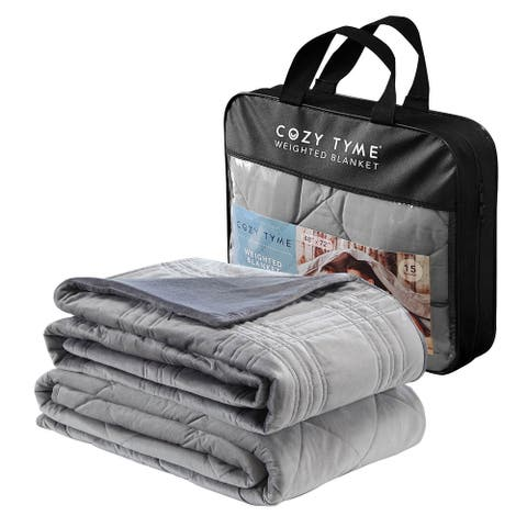 Onia Weighted Blanket with Quilted Cover
