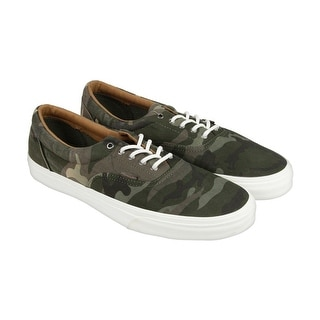 Vans Era Ca Womens Green Textile Lace Up Sneakers Shoes