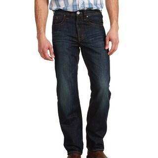 Stetson NEW Blue Mens Size 28X40 Modern Straight Leg Jeans