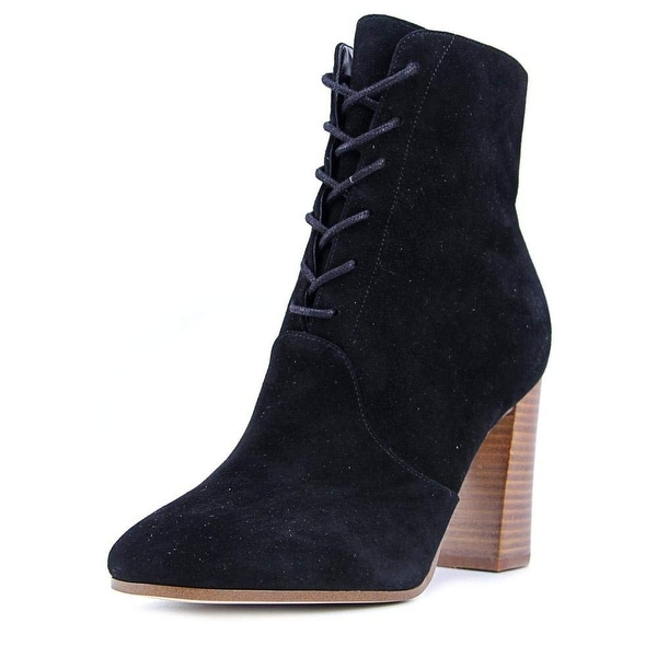 Marc Fisher Womens Edina Almond Toe Mid-Calf Fashion Boots